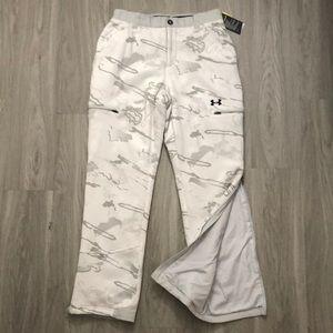 UA Hunt Insulated Snow Camo Pant